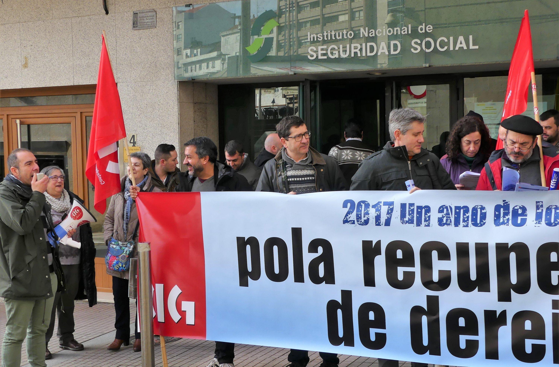 Pontevedra e vilagarc a tam n se mobilizaron pola for Oficina inem vigo